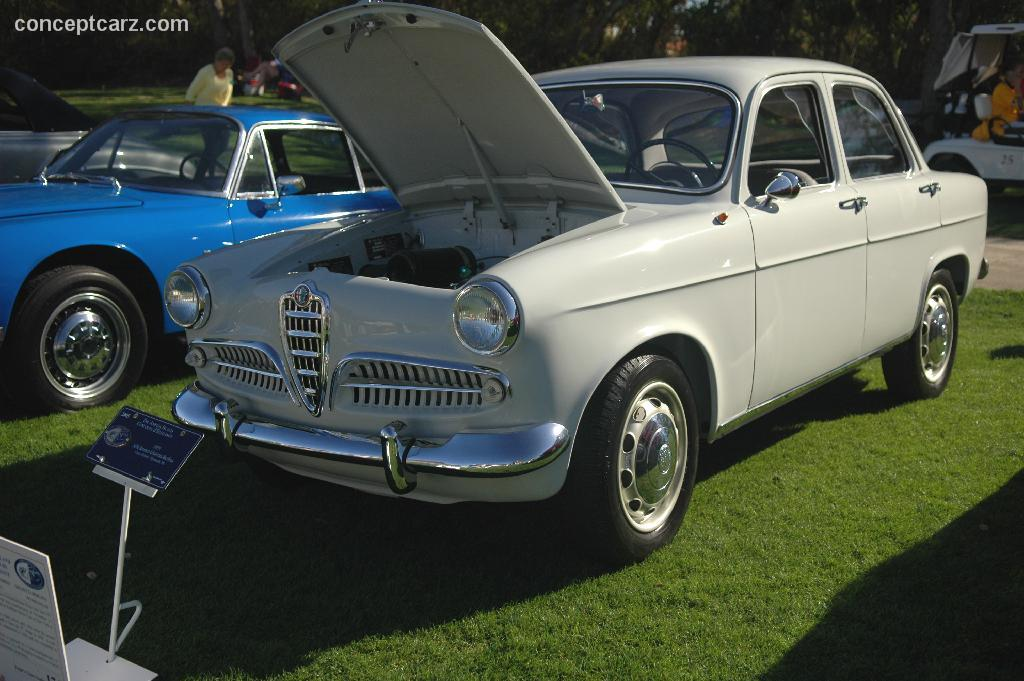Woodies At Berlin 1955 Alfa Romeo Giulietta At The Amelia Island Concours D