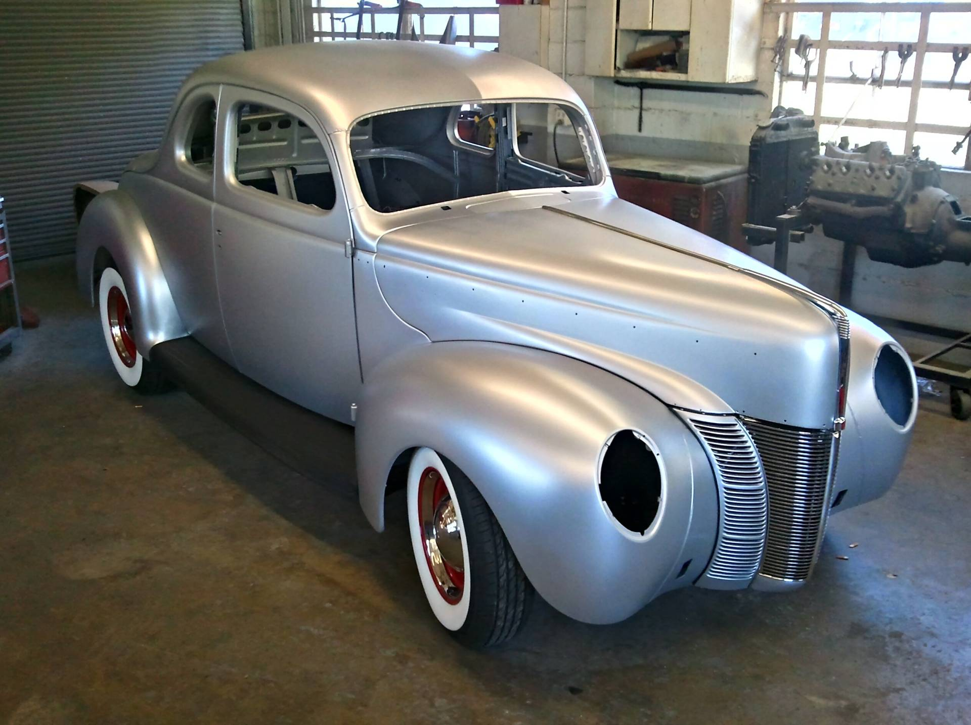 Coupe Ford 1940 Ford Coupe Reproduction History Pictures Value Auction