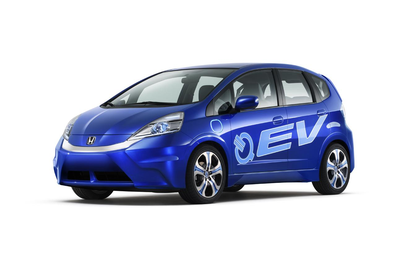 Electric Cars Information 2011 Honda Fit Ev Concept Electric Vehicle News And