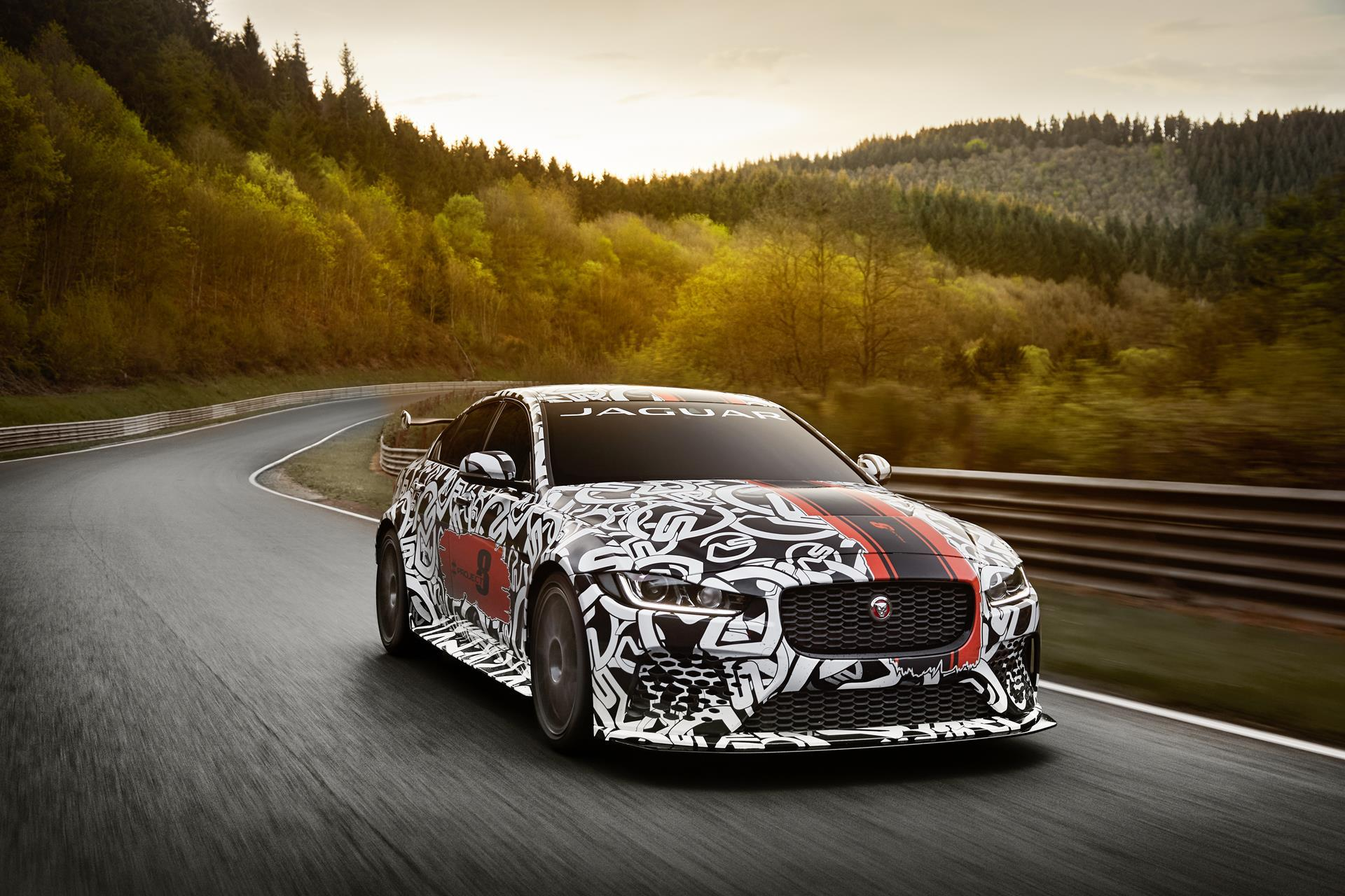 Jaguar Xe Sv Project 8 2017 Jaguar Xe Sv Project 8 News And Information