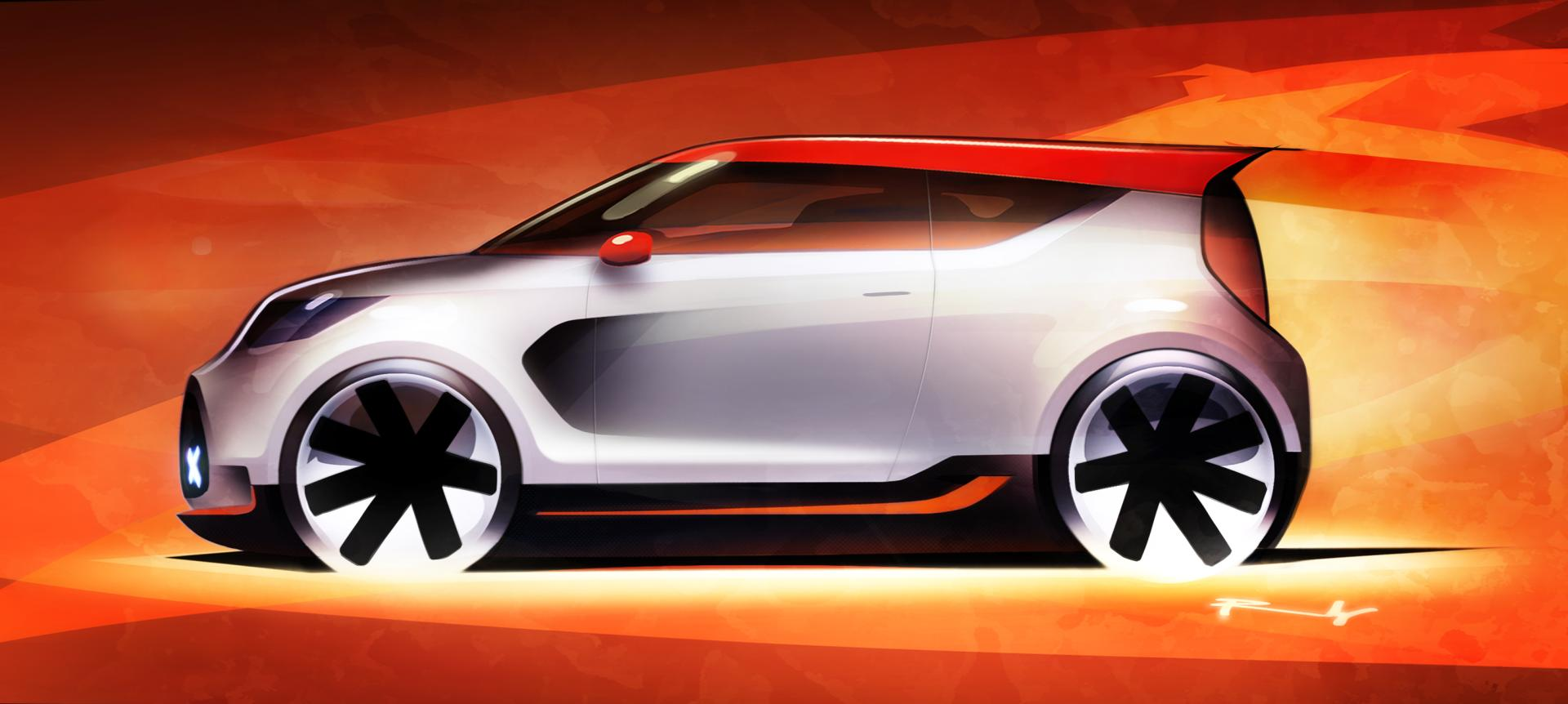 F1 Race 2012 Kia Trackster Concept News And Information, Research