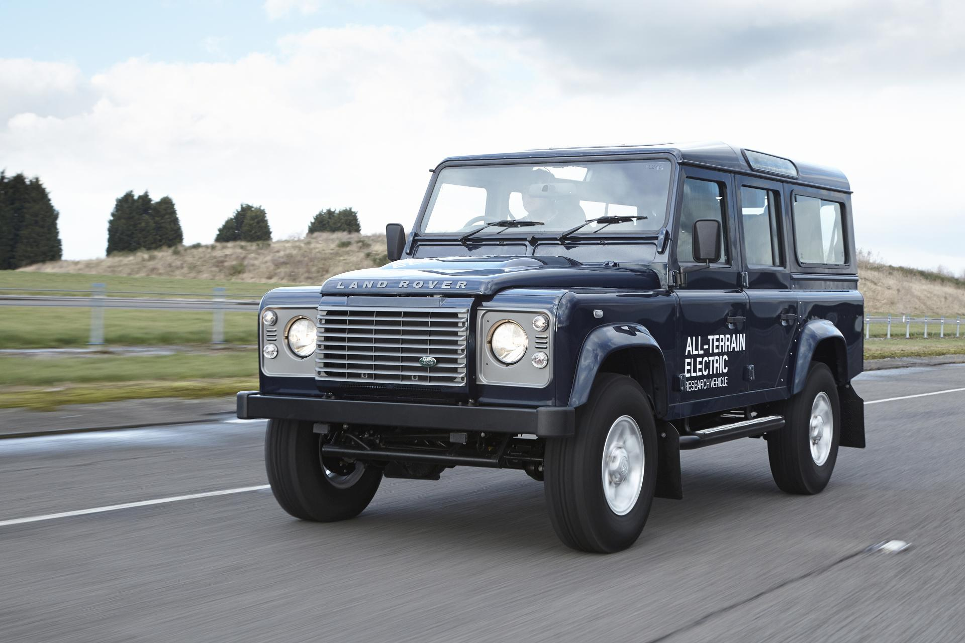 Land Rover Height 2013 Land Rover Rover Defender Electric Concept Technical