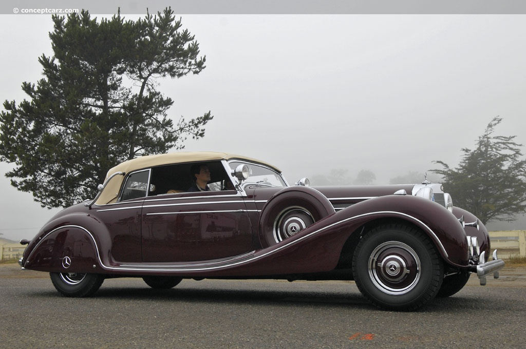 Car Manufacturers That Start With K 1939 Mercedes Benz 770 K Cabriolet B Conceptcarz
