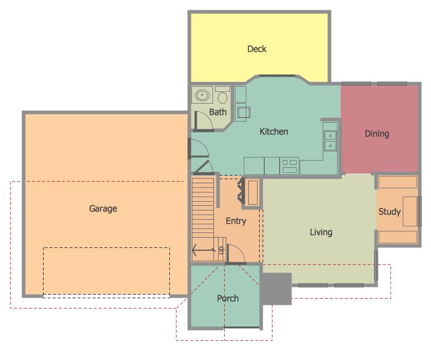 floor plan home draw sample description sample floorplan
