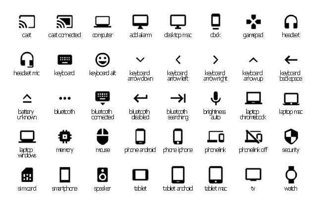 network diagram icons meaning