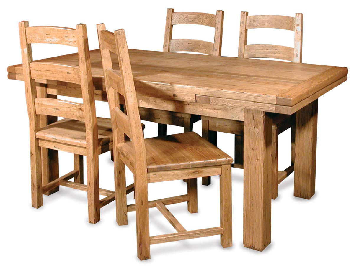 solid wood dining room table and chairs solid wood kitchen tables Home Furniture By Room Dining Room Dining Tables Rustic Solid Wood