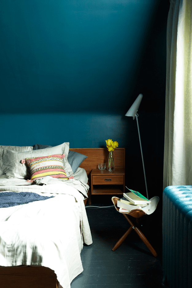 Petrol Wandfarbe Schlafzimmer Sherwin Williams Marea Baja - Concepts And Colorways