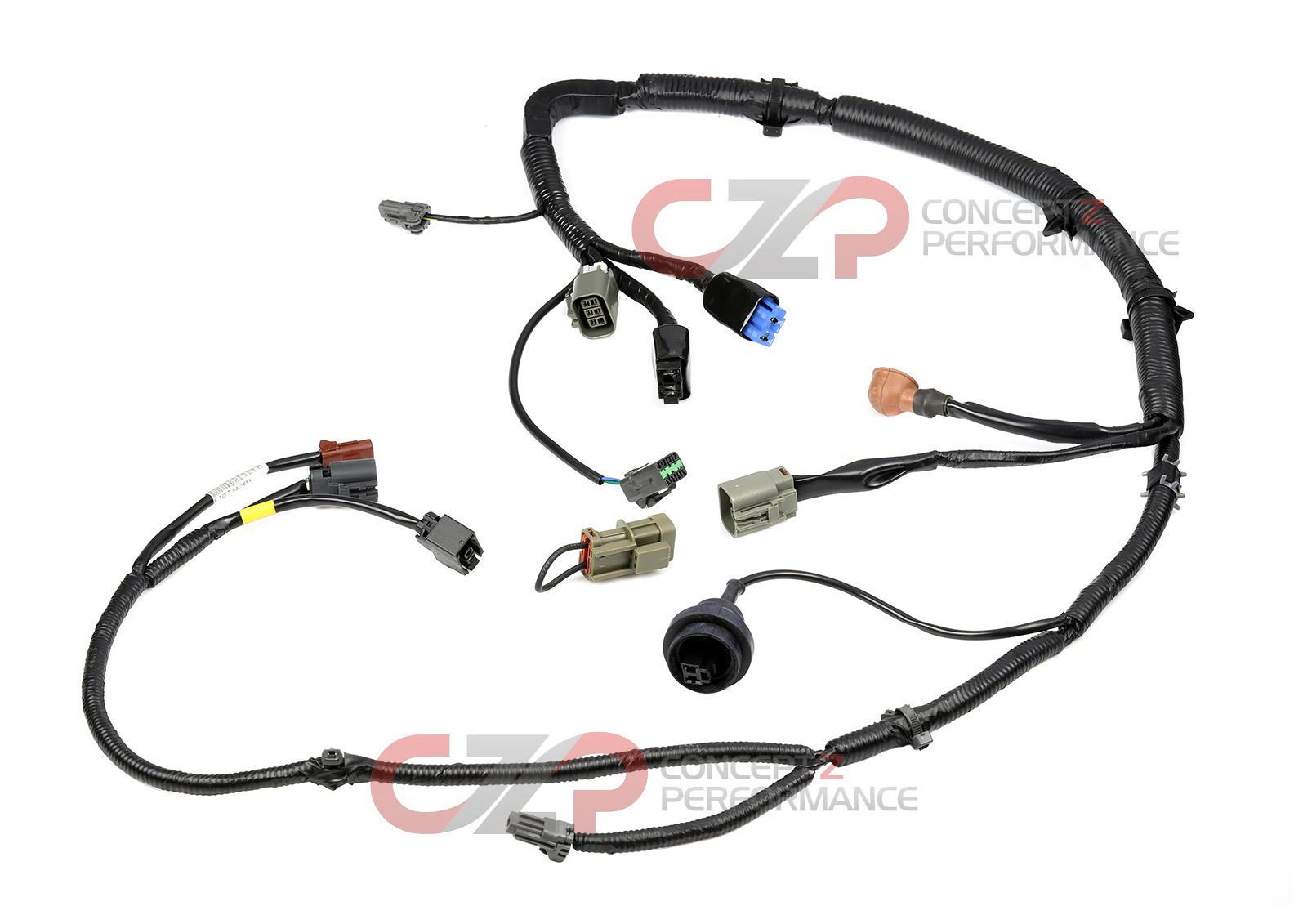 alpine amps wiring harness