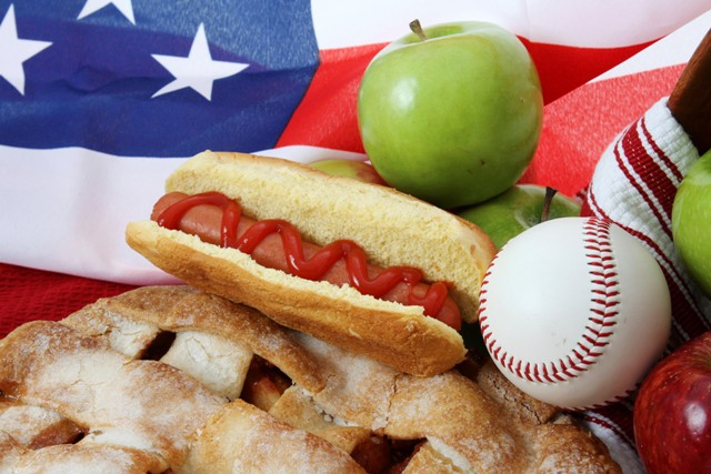 baseball-hotdog-and-applepie