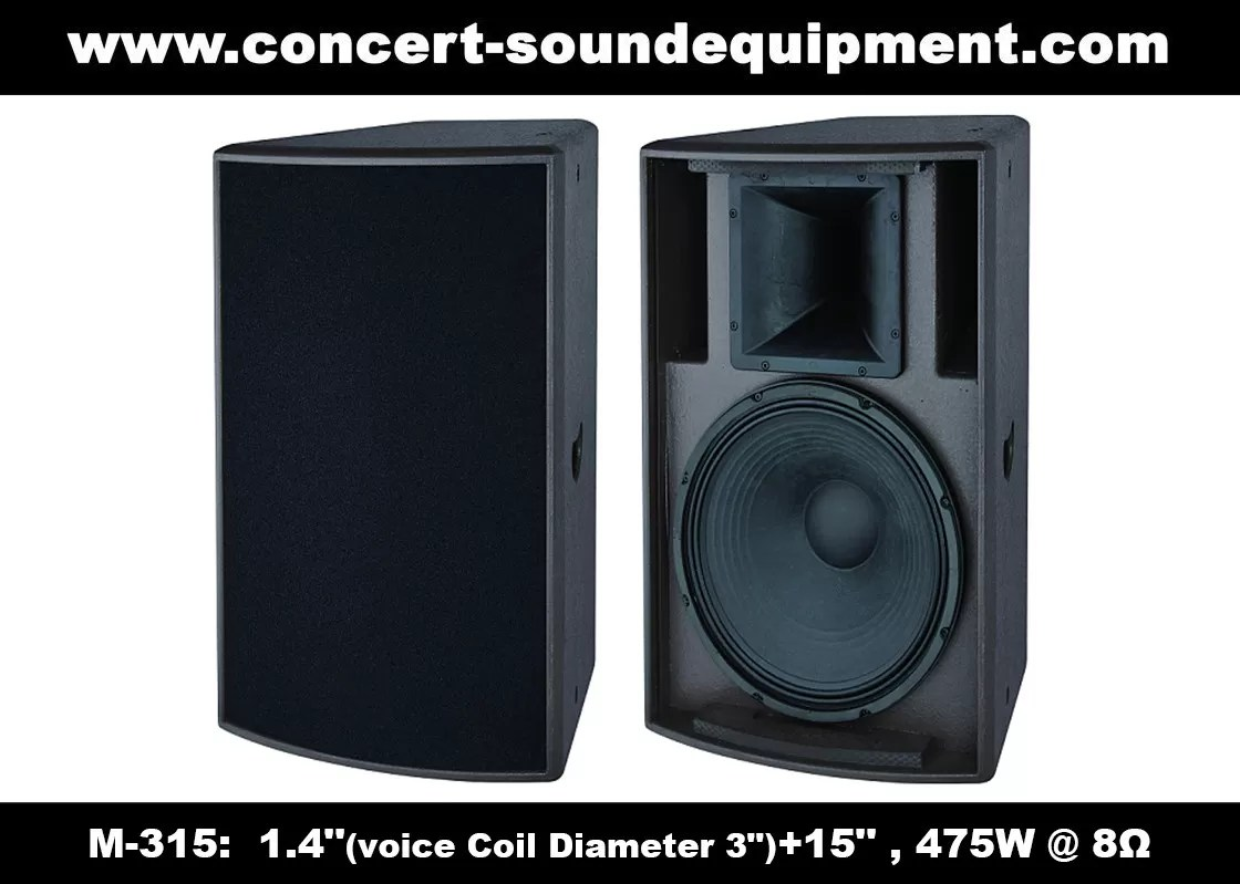 Speaker Equipment 475w 1 4