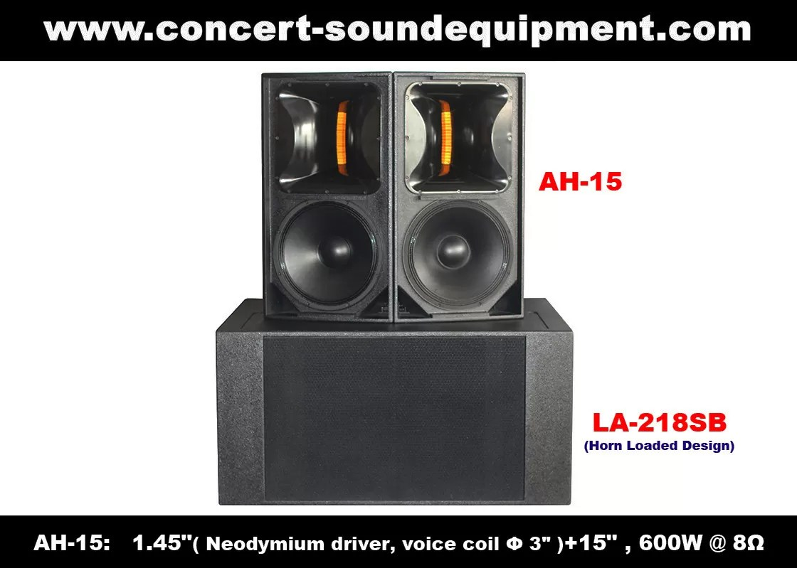 Speaker Equipment 600w Concert Sound Equipment 1 4