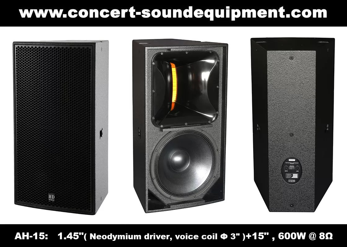 Speaker Equipment 600w Nightclub Sound Equipment 1 4