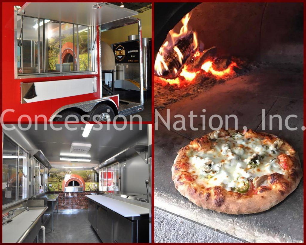 Pizzastand Oven Pizza Food Trucks Pizza Concession Trailers Mobile Brick Ovens