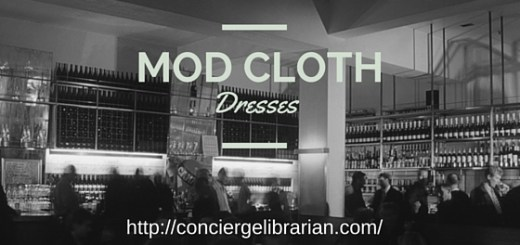Ladies Mod Clothing