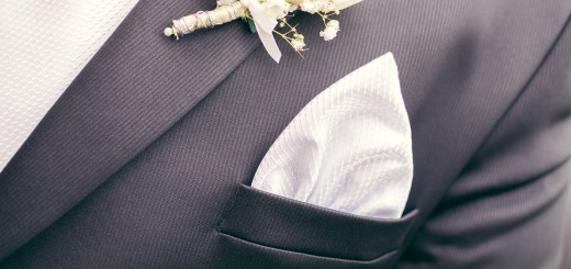 Men's White Handkerchiefs