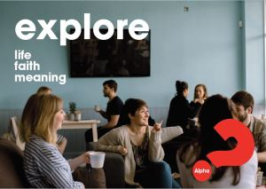 Alpha course at Concord Baptist