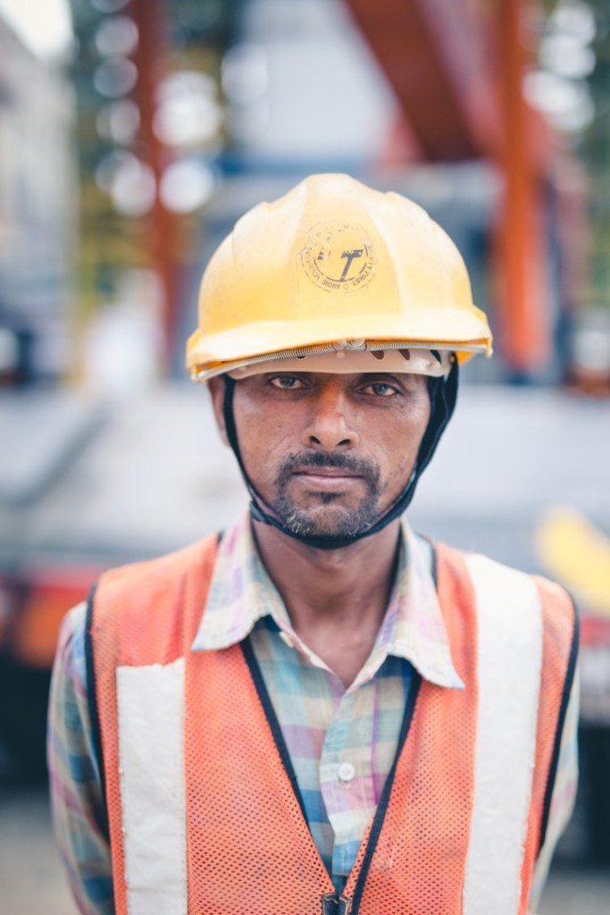 Naresh Moved from Mumbai to work on the Hyderabad Metro Rail. Even considering the improved pay compared to his hometown, Naresh finds work hectic and has not yet settled into the job