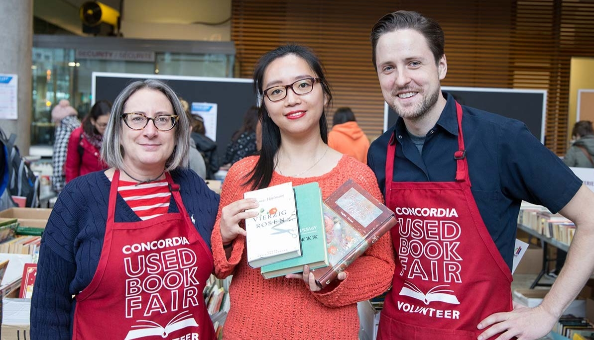 Pop Up Book Fair Montreal A Best Seller 2018 Concordia Used Book Fair Raises A Record