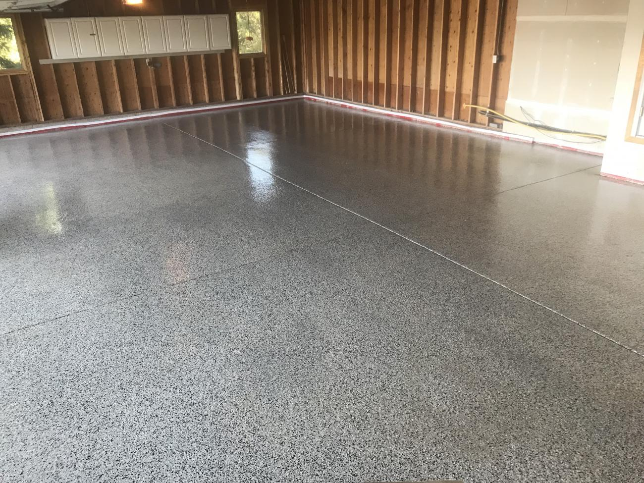 Garage Epoxy With Flakes Epoxies Polyaspartics 5280 Floors