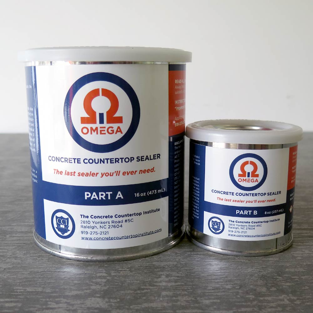 Omega Concrete Countertop Sealer - Concrete Countertop Institute