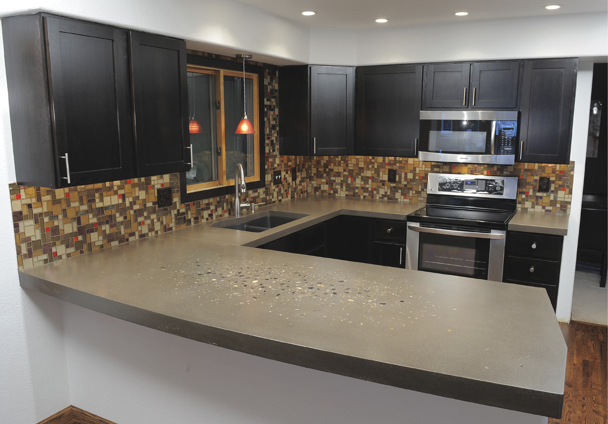 Concrete Countertop Contractors Contractor Finds His Niche With Concrete Countertops