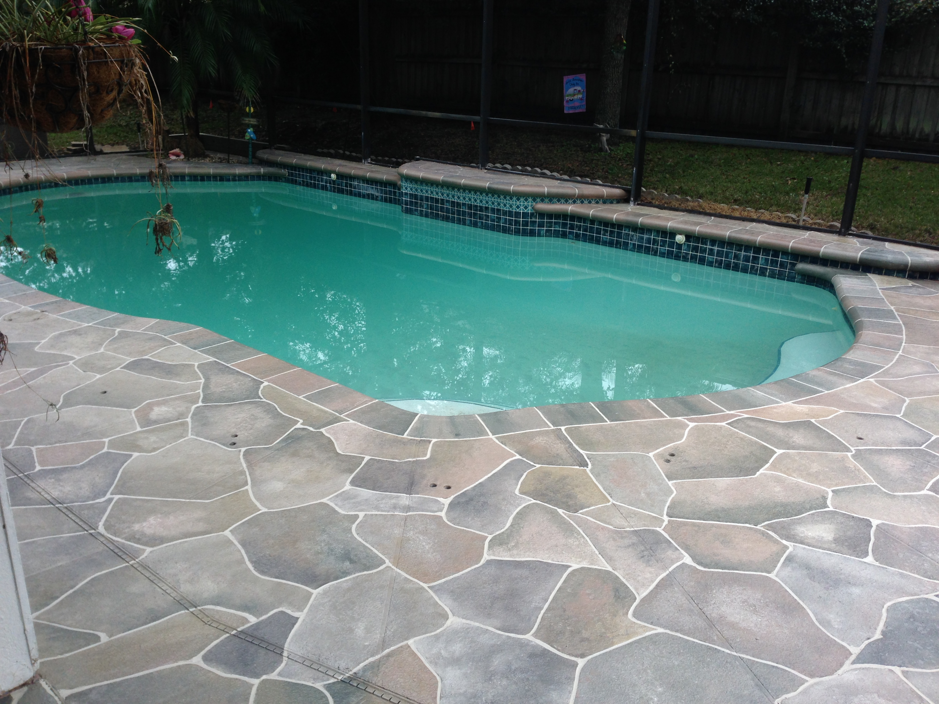 Pool Beton Concrete Designs Florida | Pool Deck Decorating