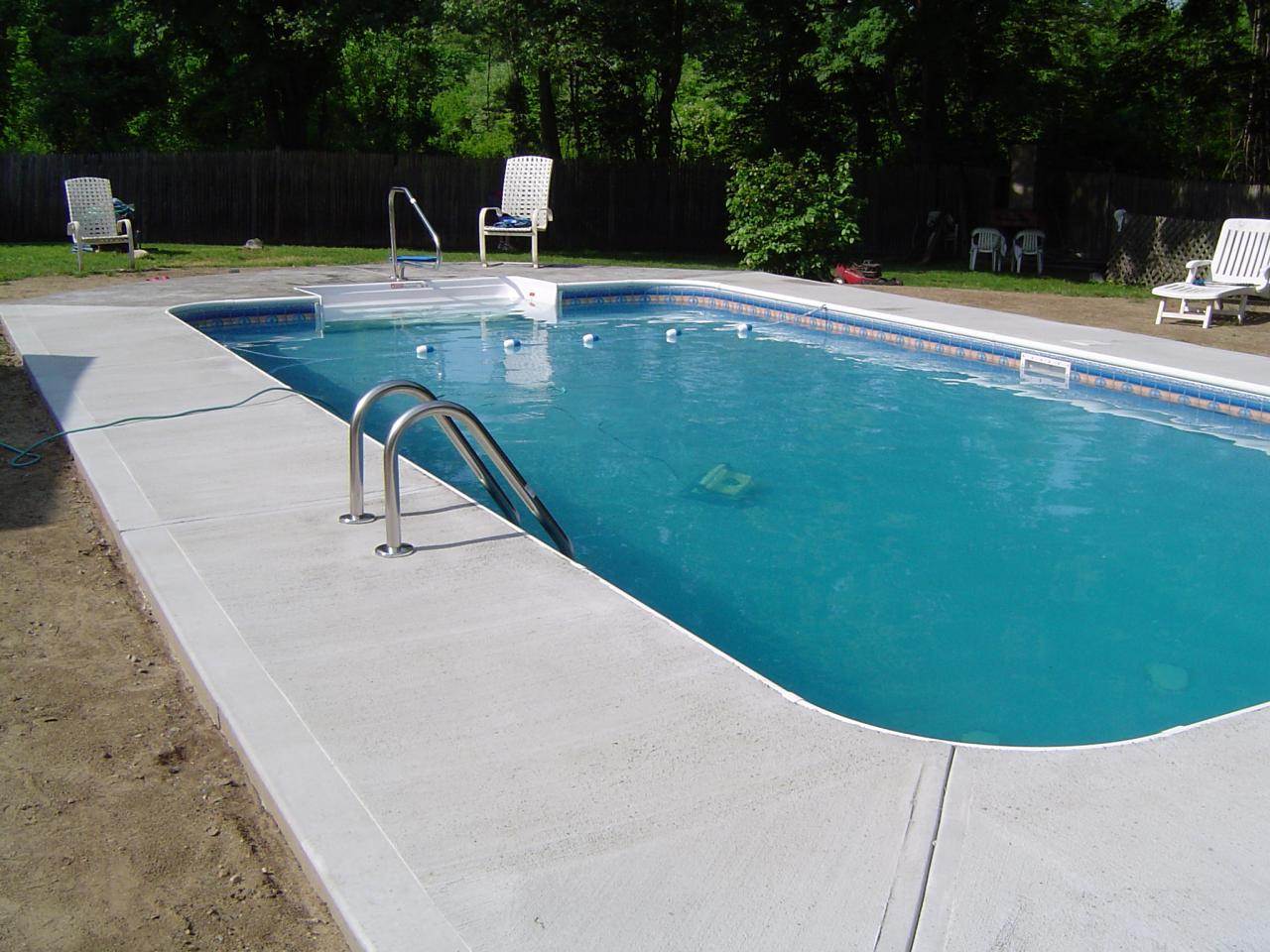 Pool Beton Artistic Stamped Concrete Of Rhode Island - Stamped
