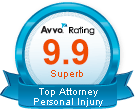 AVVO Top Personal Injury Attorney Cleveland
