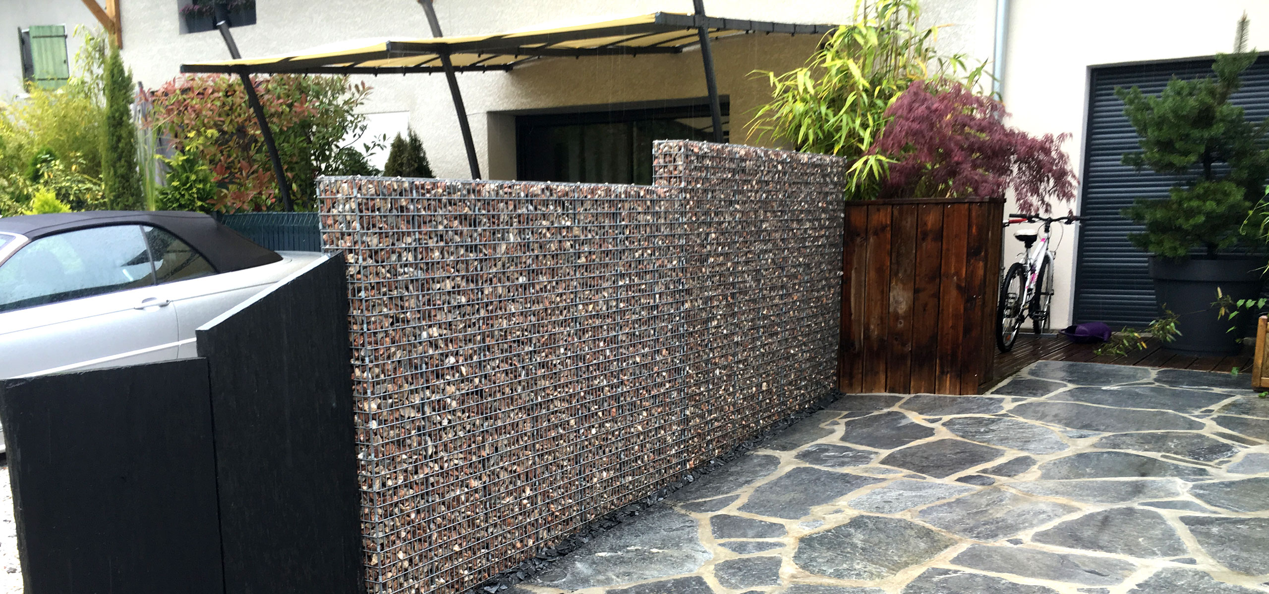 Amenagement Terrasse Gabion Amenagement Terrasse Gabion