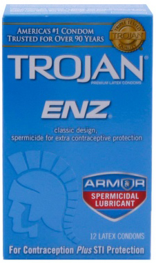 Trojan-ENZ-Spermicidal-Lubricated