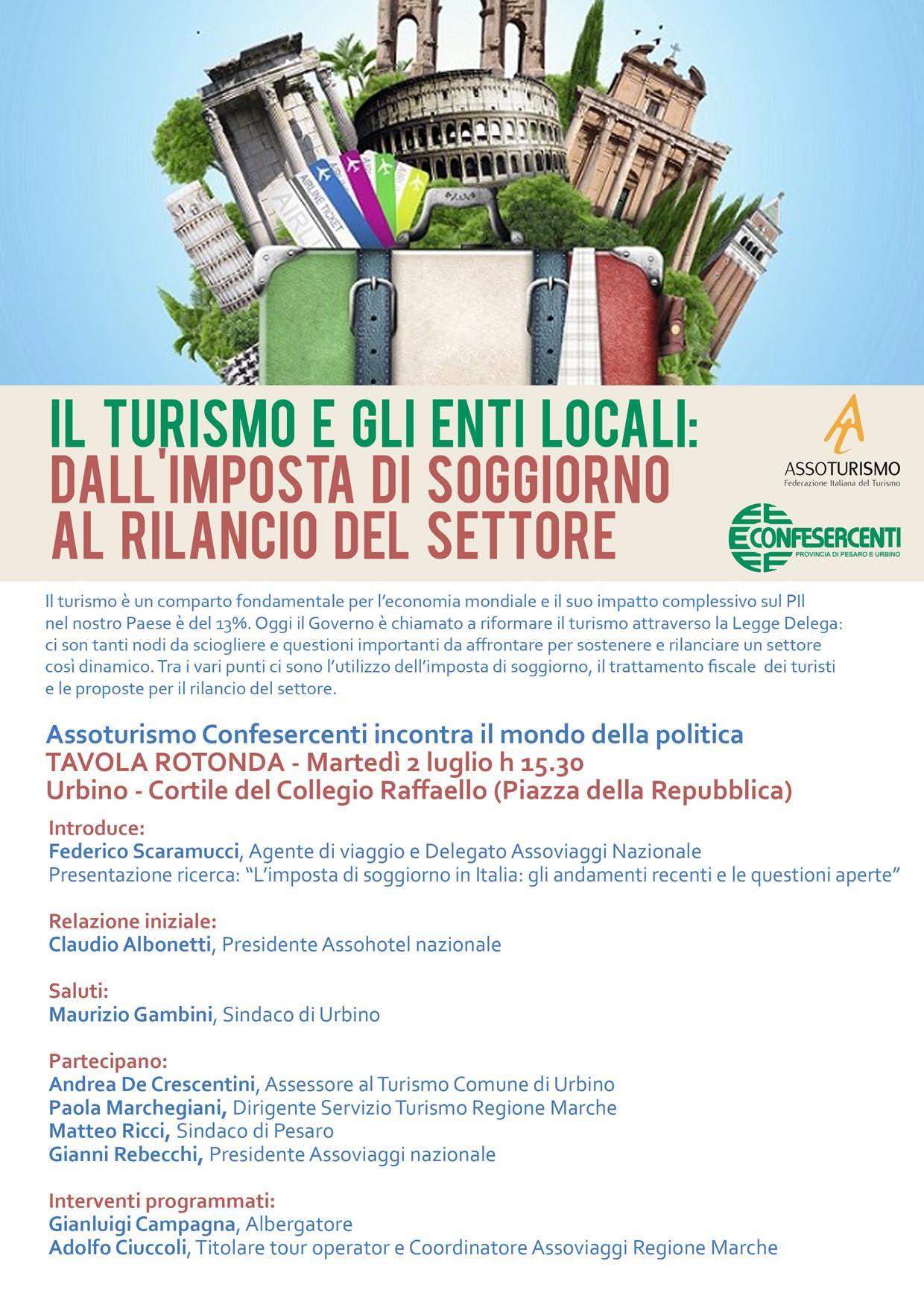 Soggiorno In Italia Per Turismo