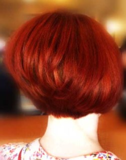 Red Hair Color by Erika Brown