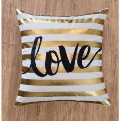 Throw-Pillow-Gold-White-Love