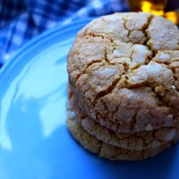 Bourbon Maple Cookies