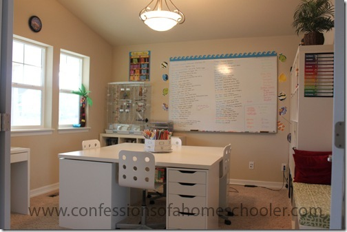 Sofa Setup Ideas Anatomy Of A Homeschooling Room - Confessions Of A