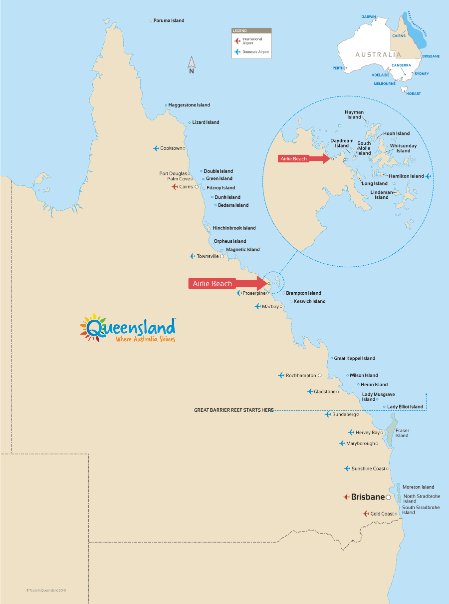 australia map east coast with Airlie Beach The Whitsunday Islands on The Ultimate Backpacker Guide To The Perhentian Islands Malaysia additionally Can You Surf The East Australian Current Finding Nemo Style 27392 besides Lake Hillier Il Lago Rosa Australia besides Portofino besides Bondibeachmap.