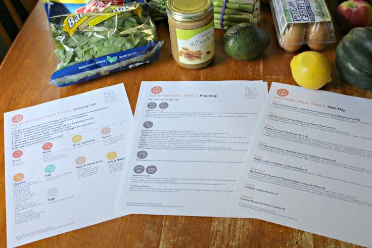 Healthy Meal Plans for the Week - healthy meal plan