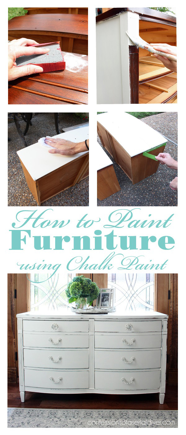 How To Chalk Paint Furniture A Step By Step Guide
