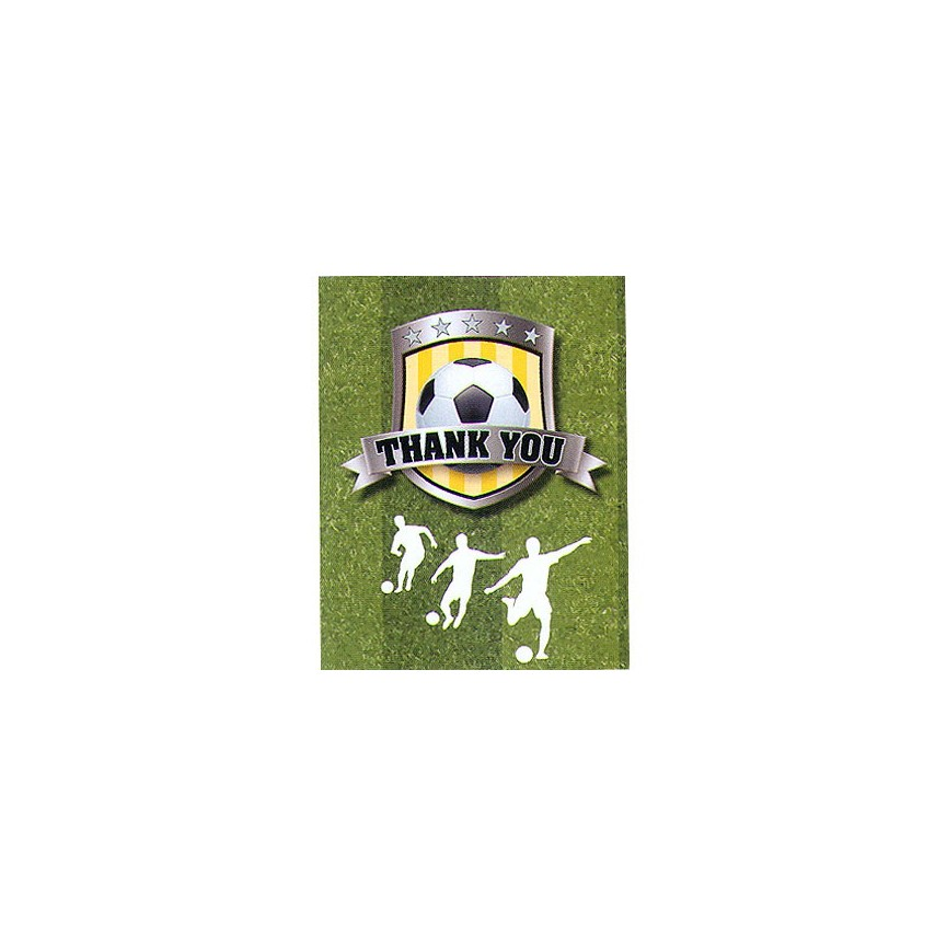 Football Thank You Cards - Confetti Box