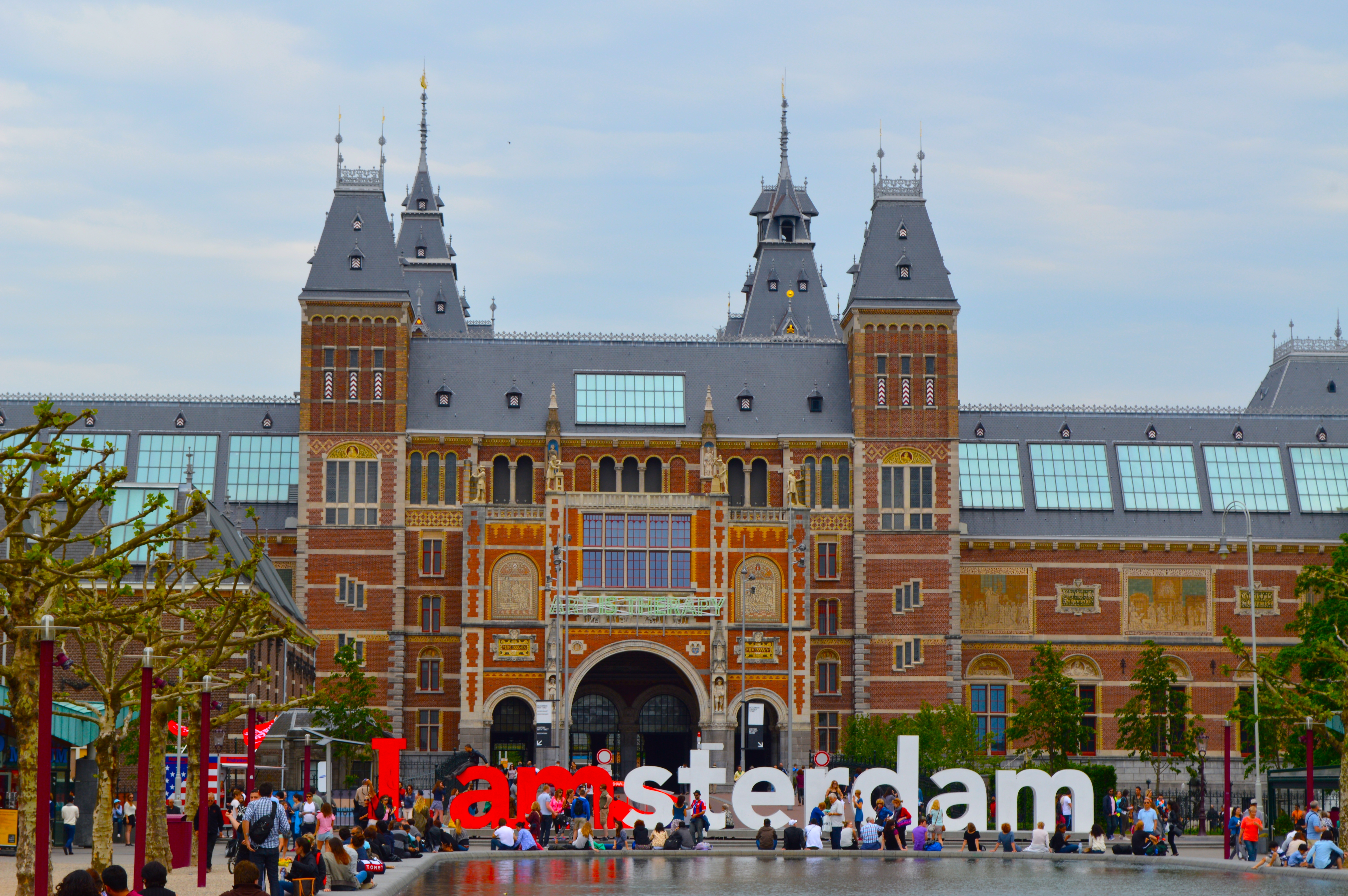 Amsterdams Museum Rijksmuseum Confetti Filled Backpacks