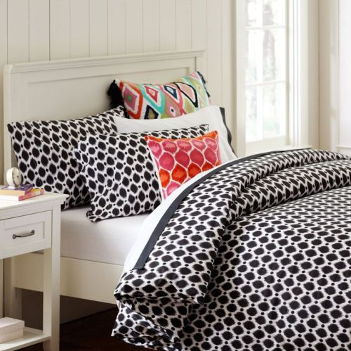 PB Teen Ikat Dot Duvet