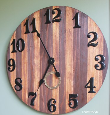 DIY Clock by ConfettiStyle2