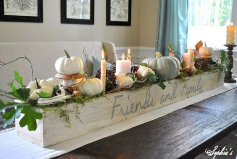 Fall Container Centerpiece5