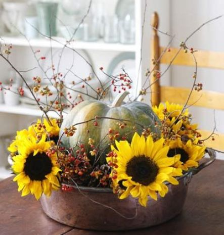 Fall Container Centerpiece6