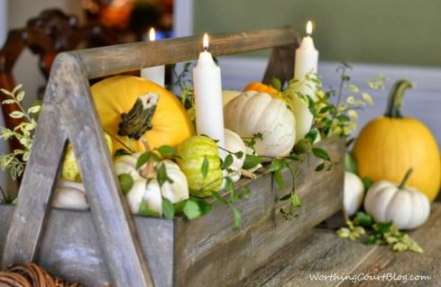 Fall Container Centerpiece8