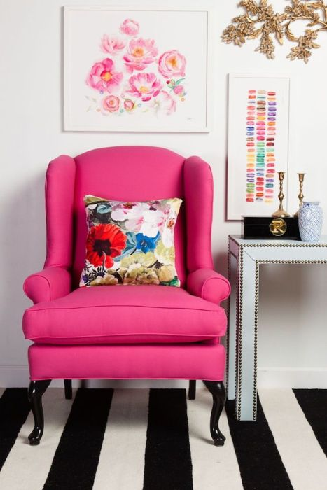 Watercolor Floral Pillows