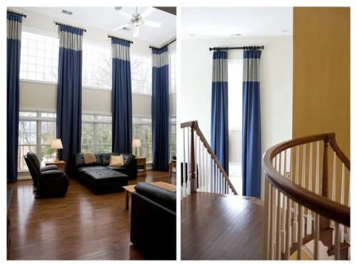Window Treatments for Tall Windows--Tips & Inspiration | ConfettiStyle
