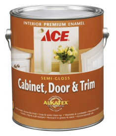 Ace Hardware Cabinet, Door & Trim Paint