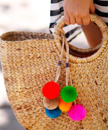 Pom Pom Bag Charm