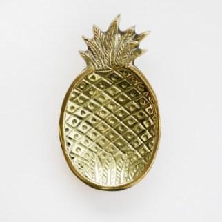 Brass Pineapple Dish